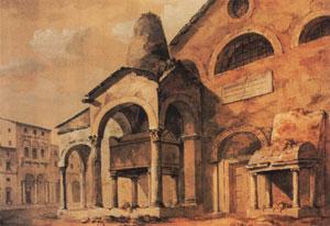 tomba antenore chiesa