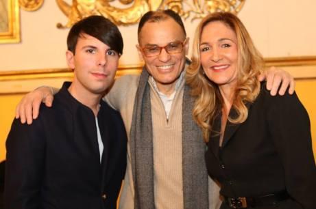 Magdi Cristiano Allam con il Presidente e il Vice Presidente del Movimento del Buonsenso - Padova.