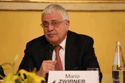Mario Zwirner (conduttore e condirettore di Telenuovo)
