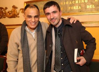 Magdi Cristiano Allam con l'Assessore Alain Luciani