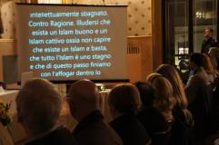 Proiezione di brani tratti dalle opere di Oriana Fallaci per introdurre importanti temi di attualità: immigrazione, terrorismo islamico e molti altri.