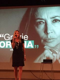 Elisabetta Beggio, moderatrice della serata