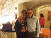 La nostra Presidente, Elisabetta Beggio, con l'ospite d'eccezione, Magdi Cristiano Allam