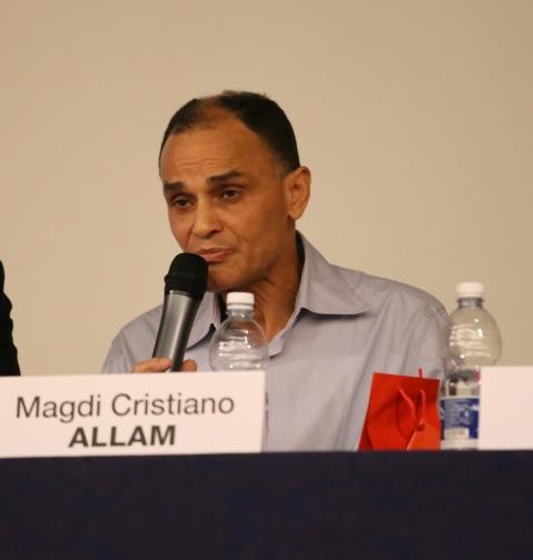 """L'On. Magdi Cristiano Allam durante la presentazione del suo ultimo libro """"Io e Oriana"""""""