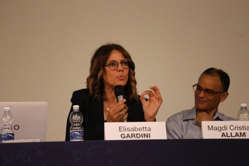 L'On. Elisabetta Gardini durante il suo intervento